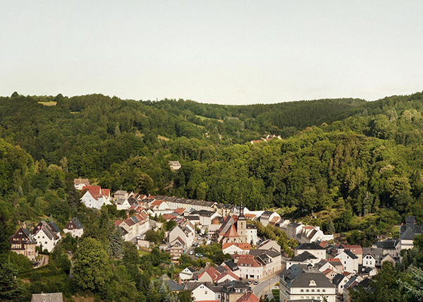 The sky, the hills, and the finest watches: Glashütte in the eastern Ore mountains.