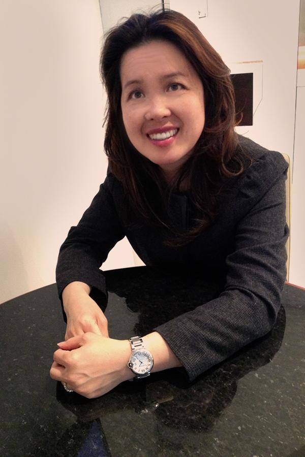 Jenny Lei, Cartier Ambassador, Tourneau TimeMachine