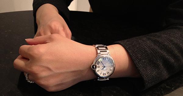 Jenny Lei's Cartier Ballon Bleu